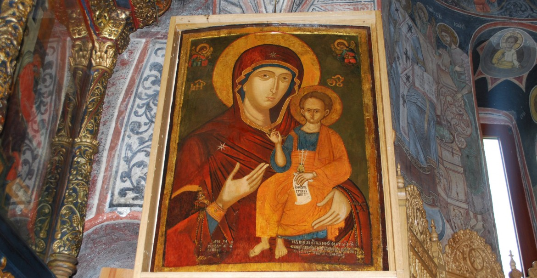 Icoana Maicii Domnului de la Ostrov
