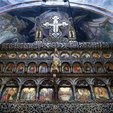 Catapeteasma - Sfânta Mănăstire Ostrov